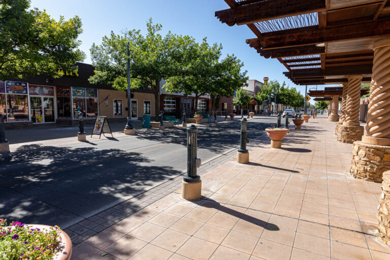 Downtown Las Cruces, New Mexico.